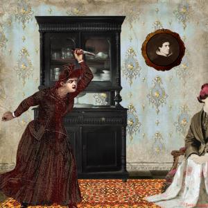 Mary Lamb in Little Queen Street – Frances Gapper